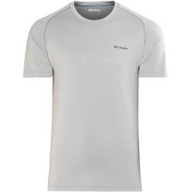 Columbia Mountain Tech III Miehet Lyhythihainen paita , harmaa